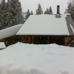 Winter at the caretaker cabin